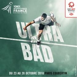 Yonex Interbationaux de France de Badminton