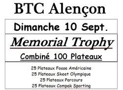 Mémorial Trophy le 10/09/2017