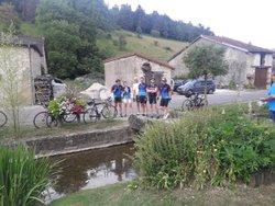 Compte rendu parcours à velo Rengsdorf Stpierre du 08/07 au 14/07