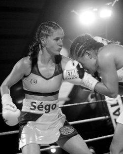 Segolene MAJESTIC Lefebvre élue meilleure boxeuse du mois de novembre