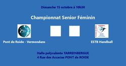 Pont de Roide vs ESTB