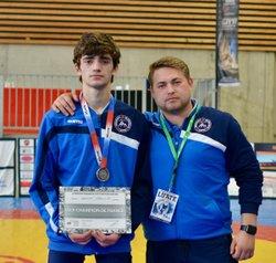 Mouhamed-Ali AYDAMIROV, vice champion de France cadet de lutte libre 2017 Saint-Yrieix-la-Perche (Limousin)