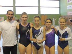 Les gymnastes salinois toujours aussi performants!