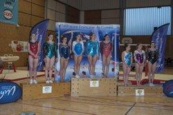 Marion Messager Championne de zone en Nat B 17 ans et surtout qualifiée pour la Finale du France