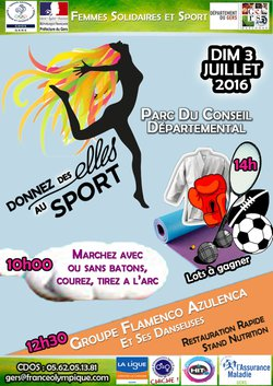 "Journée ""femmes & sport"""