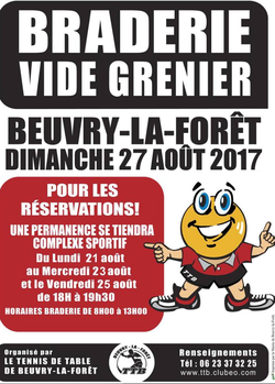 Braderie aout 2017