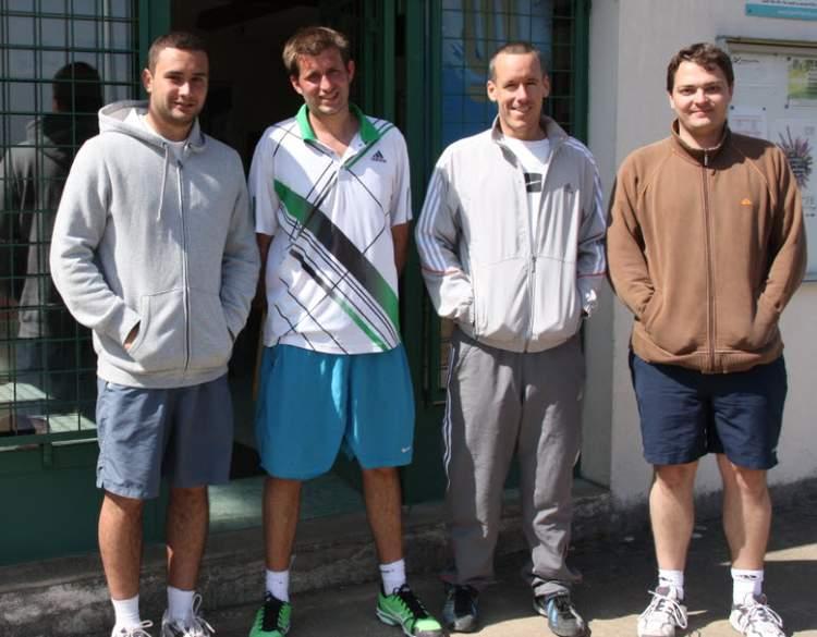 Equipe 2 séniors Hommes Championnat Régional