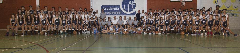 Academia de Basquetebol : site oficial do clube de basquete de Coimbra - clubeo