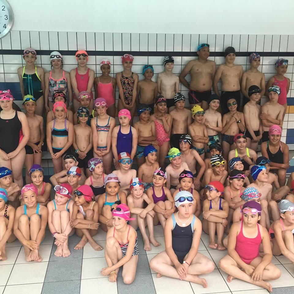 Démonstration école de natation