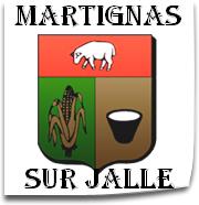 La ville de Martignas