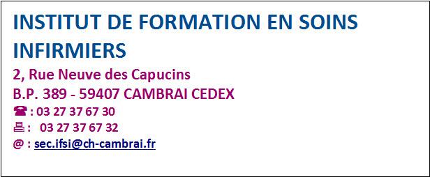 IFSI Contact