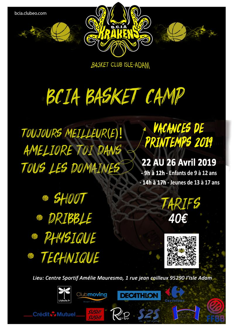 BCIA STAGE BASKET PRINTEMPS