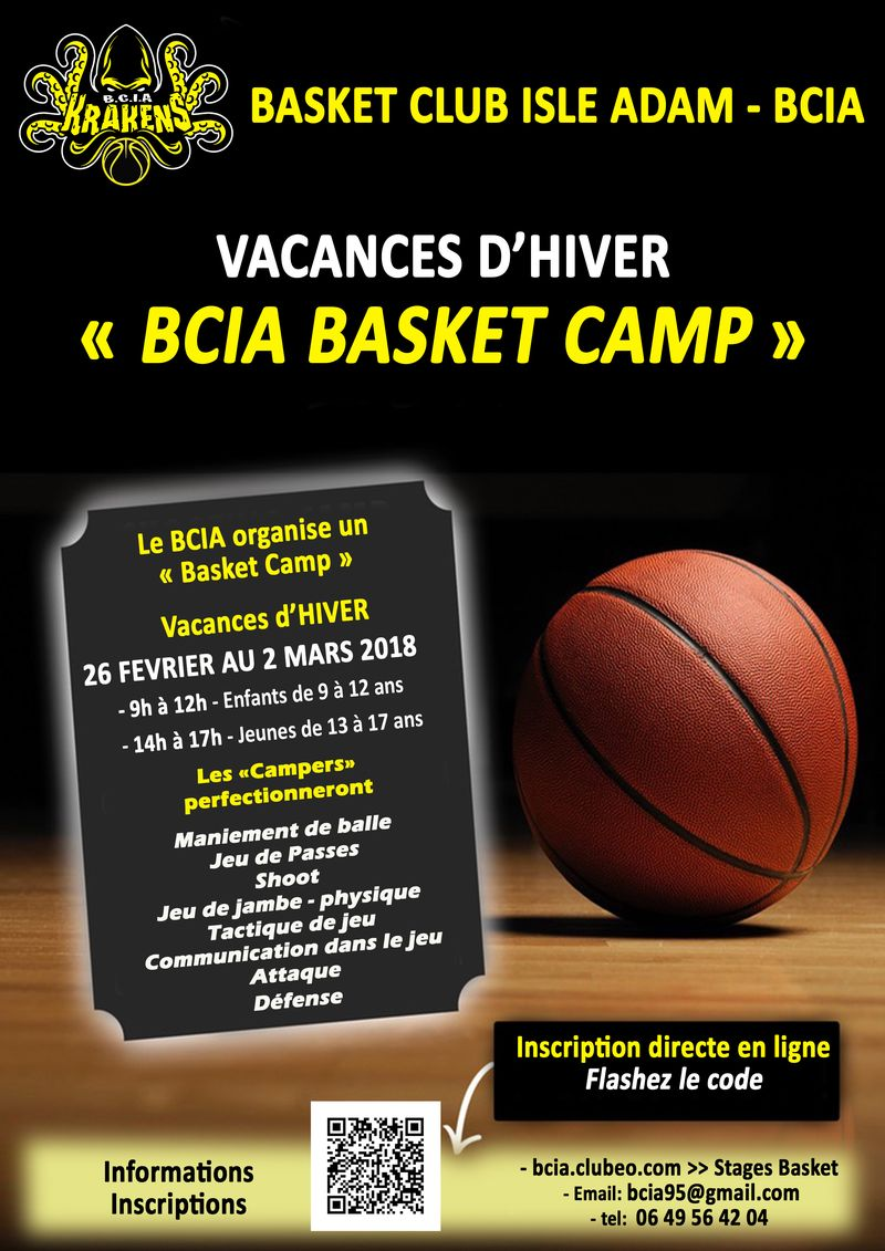 BCIA STAGE BASKET HIVER 2018