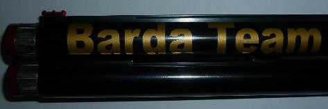 Barda Team barrel sticker