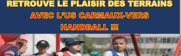 US Carmaux Vers Handball : site officiel du club de handball de Carmaux - clubeo