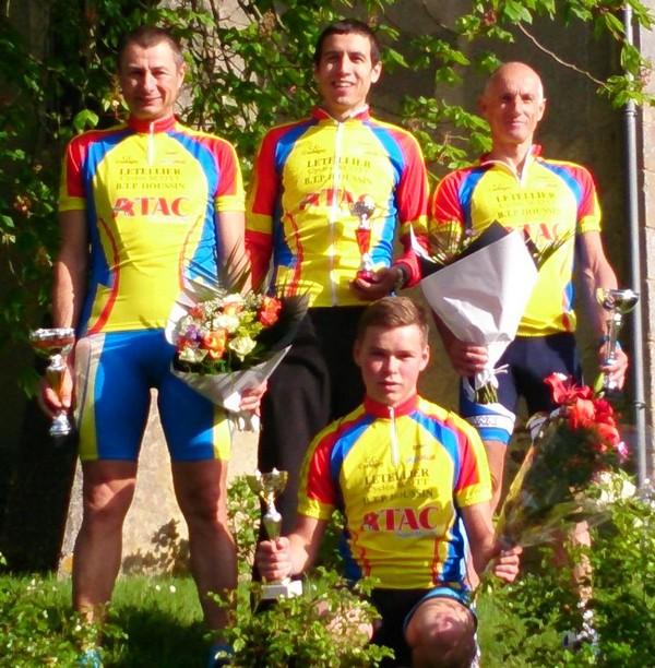 championnat départemental à Montambert le 4 mai 2014