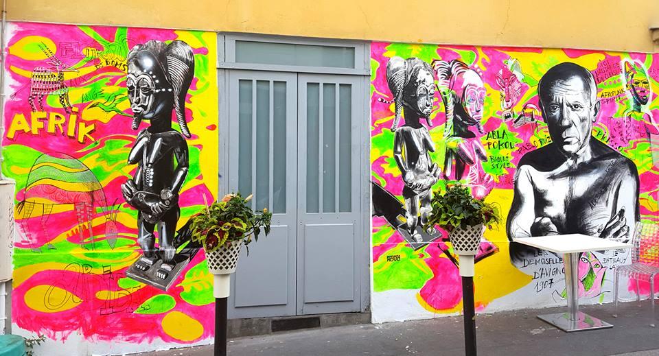 Steet art (urbain)