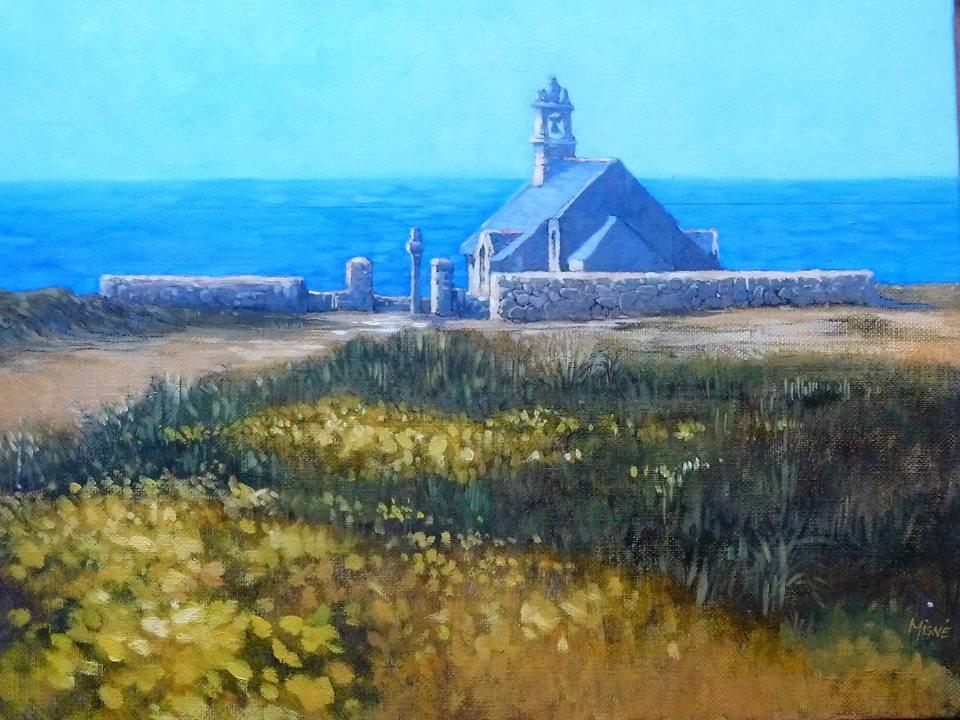 Pointe du vent.  Bretagne