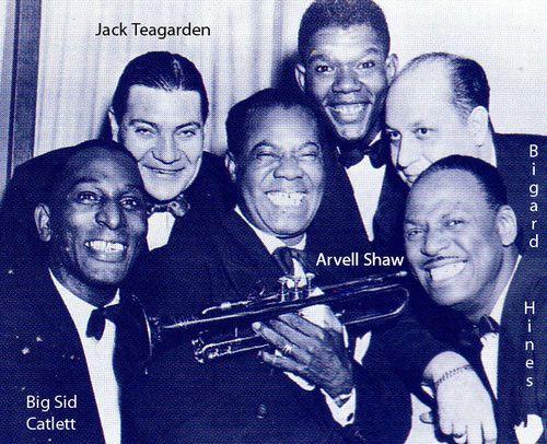 Jack Teagarden- louis Arsmtrong 1958 .