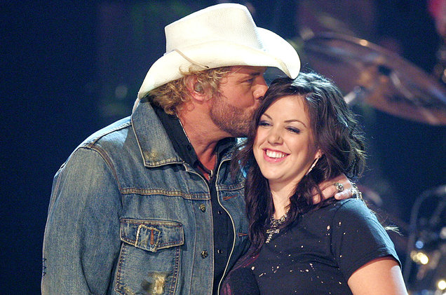 Toby Keith and his daughter Krystal