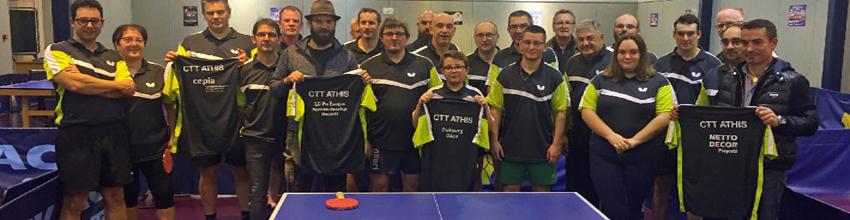 CTT ATHIS : site officiel du club de tennis de table de ATHIS DE L ORNE - clubeo