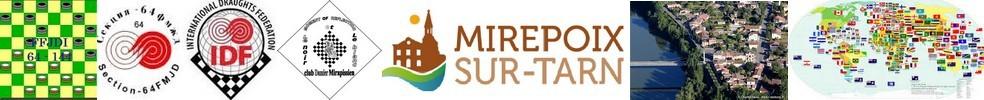 Coupe du Monde 64 Brésilien 2016 : site officiel du club de jeu de dames de MIREPOIX SUR TARN - clubeo