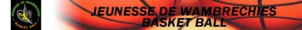 Site Internet officiel du club de basket Jeunesse de Wambrechies