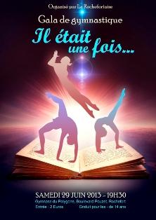 Affiche Fête du club La Rochefortaise 2013