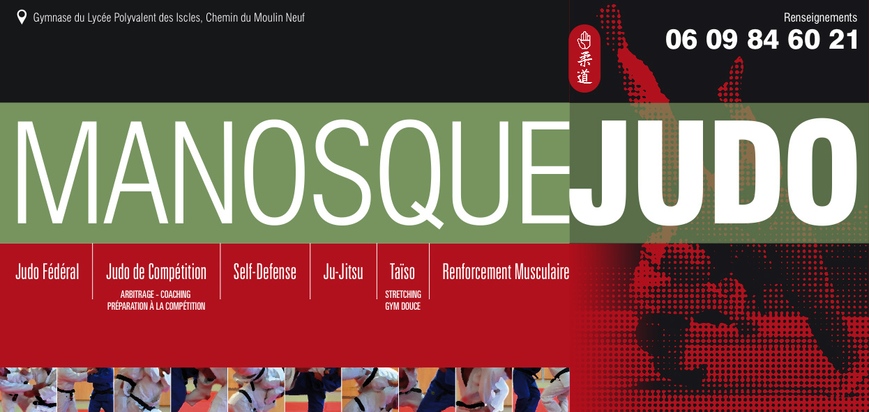 Site Internet officiel du club de judo manosque judo