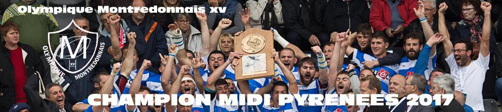 OLYMPIQUE MONTREDONNAIS XV : site officiel du club de rugby de MONTREDON LABESSONNIE - clubeo