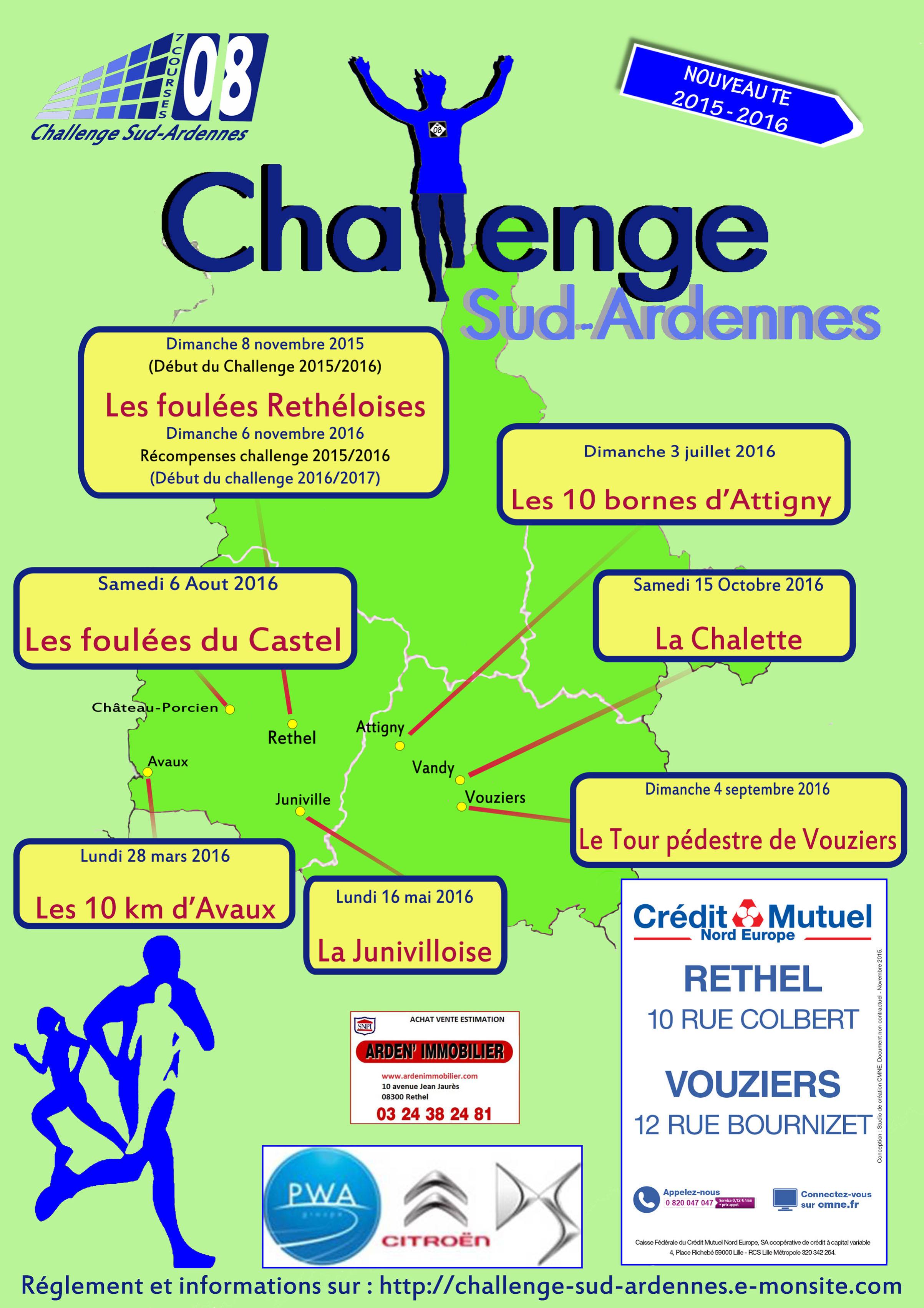 Affiche Challenge Sud Ardennes