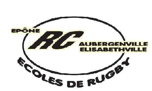 ECOLE DE RUGBY - Jusqu'à U12