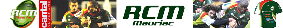RACING   CLUB   MAURIAC   15 : site officiel du club de rugby de MAURIAC - clubeo