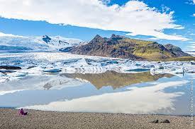 glacier de JokulsarlonIslande