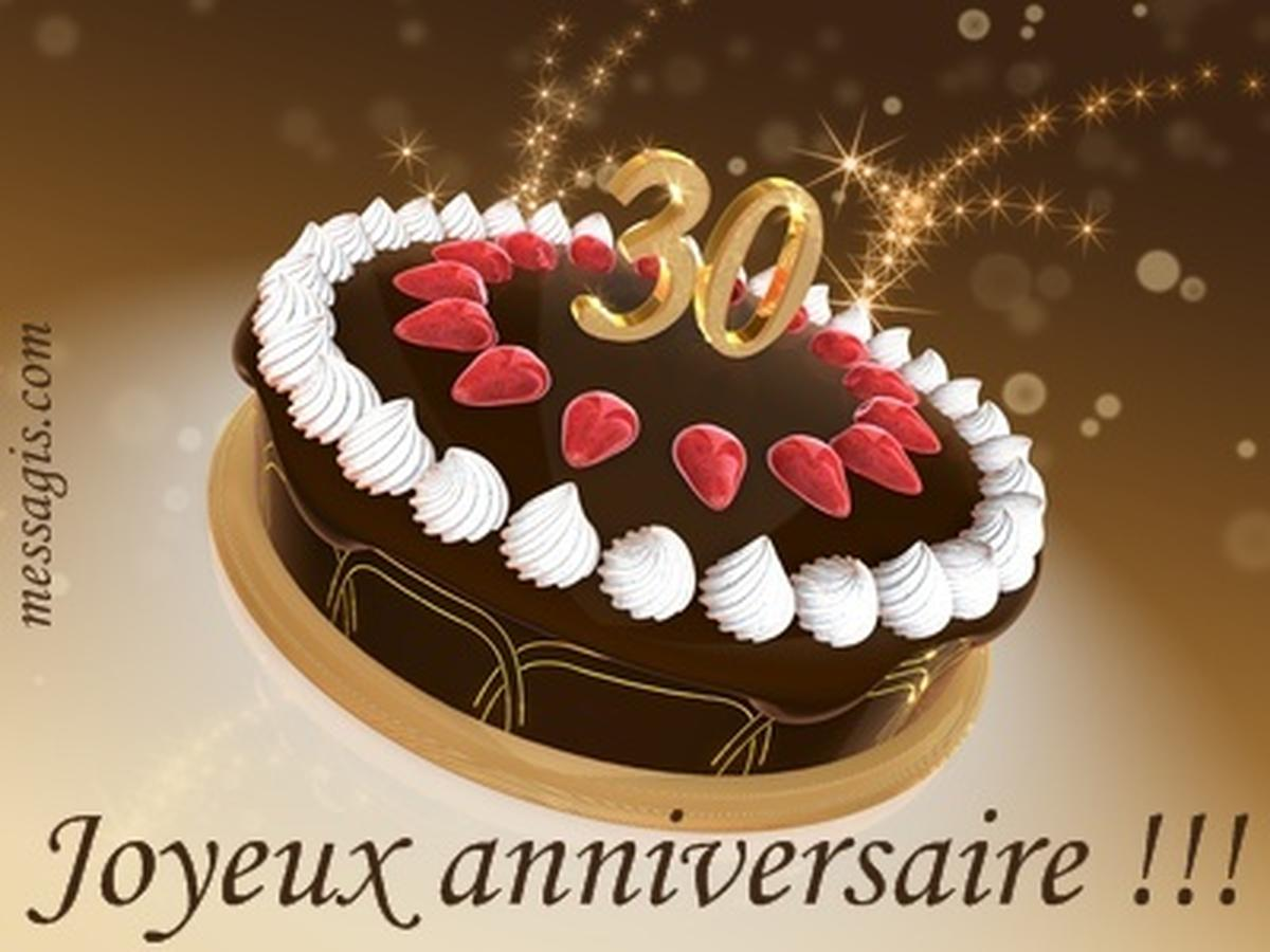 anniversaire24 gateau d anniversaire 30 ans. Black Bedroom Furniture Sets. Home Design Ideas
