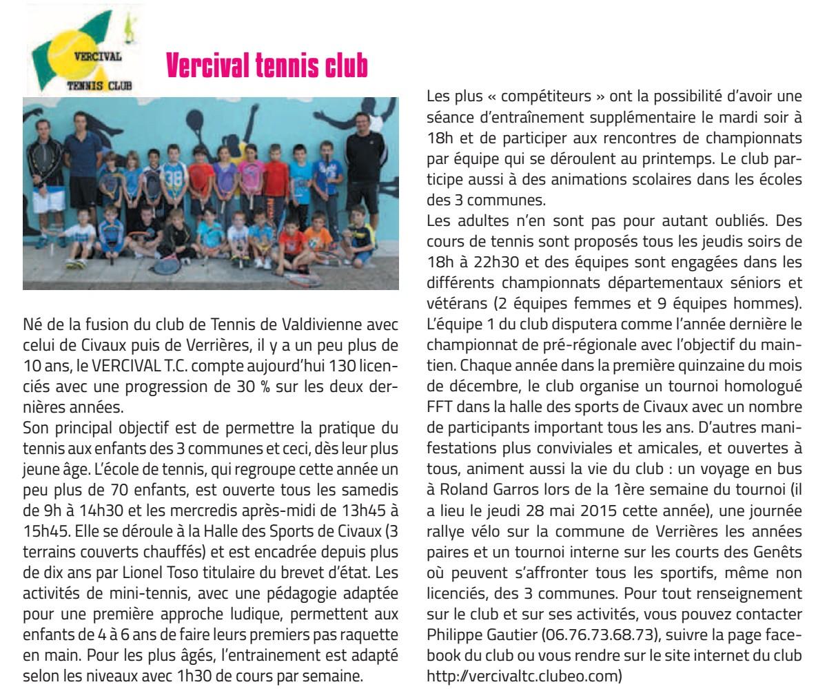 Bulletin jan 2015