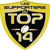 logo du club LES SUPPORTERS DU TOP 14, tous unis par une même... passion.