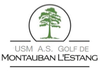 logo du club USM AS Golf Montauban L'estang
