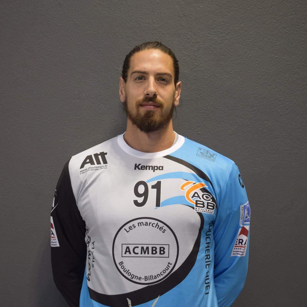 Joueur - Camille DUPRE - club Handball Athlétic Club Boulogne Billancourt  Handball - Clubeo