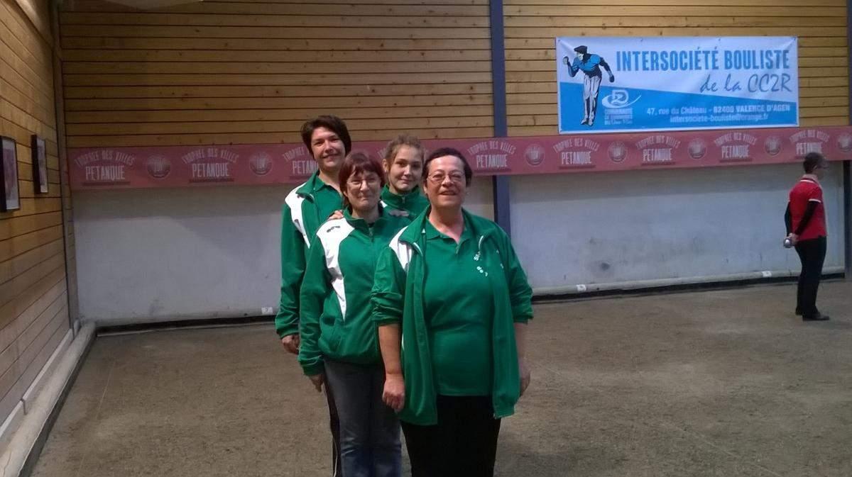Equipe féminine 3 ème division