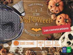 Bad'oween #6 / Les convocations