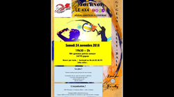 Le tournoi 4x4  : Samedi 24 Novembre 2018 / 19h30-2h