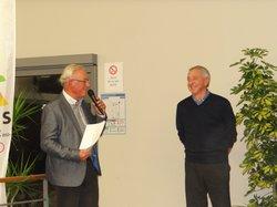 Les 9ème trophées du bénévolat sportif: Marc LEFAUX à l'honneur