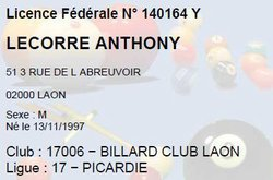 Anthony LE CORRE