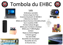 Tombola du EHBC
