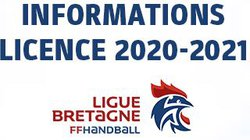 INFOS NOUVELLE LICENCE 2020-2021
