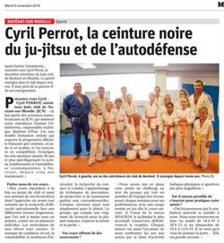 Le Ju Jitsu/Self Défense avec Cyril Perrot