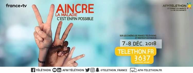 Fil Rouge Téléthon-Vannes