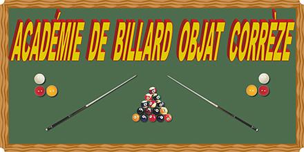 ACADÉMIE DE BILLARD OBJAT CORRÈZE : site officiel du club de billard de OBJAT - clubeo