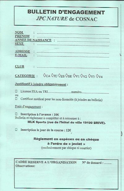BULLETIN D INSCRIPTION JPC